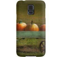 Autumn - Pumpkins - Free ride Samsung Galaxy Case/Skin