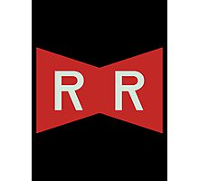 The Red Ribbon Army Symbol Photographic Print