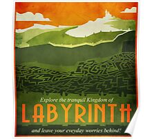 Explore the Tranquil Kingdom of Labyrinth Poster