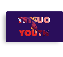Lupe - Tetsuo & Youth Album Text Canvas Print