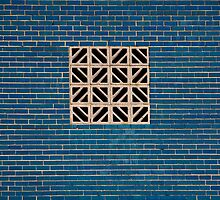 Blue Wall by Judith Oppenheimer