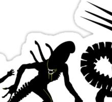 Alien Evolution (NO TEXT) Sticker
