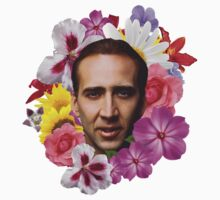 Nicolas Cage - Floral by ticklish-wizard