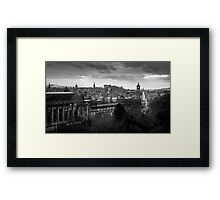 Edinburgh view  Framed Print