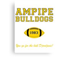 Ampipe Football Alternates Canvas Print