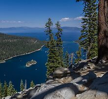 High Above Emerald Bay by Richard Thelen