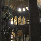 Hagia (Aya) Sophia, Istanbul by Denzil