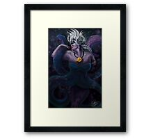 Beautevil Villain Framed Print