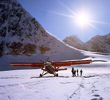Glacier Landing by DanielRegner