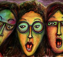 Girls night at the movies by Jenny Wood