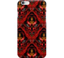 Red Ion Key Ova iPhone Case/Skin