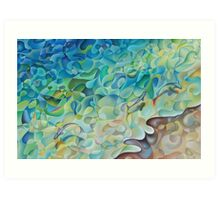 Shoreline In 'D' Minor Art Print