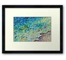 Shoreline In 'D' Minor Framed Print