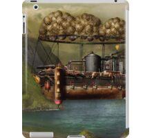 Steampunk - Airship - The original Noah's Ark iPad Case/Skin