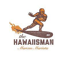 "The ""Hawaiisman"" Trophy Winner Marcus Mariota  Photographic Print"