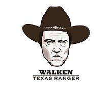 Christopher Walken - Walken, Texas Ranger Photographic Print
