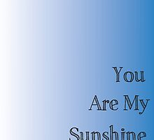 You are my Sunshine Handprint Gift by JodiErin