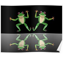 HAPPY DANCE BY FINGERS & TOES FROGS Poster