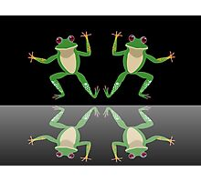 HAPPY DANCE BY FINGERS & TOES FROGS Photographic Print