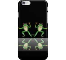 HAPPY DANCE BY FINGERS & TOES FROGS iPhone Case/Skin