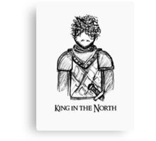 Robb Stark. Canvas Print