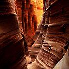 Zebra Slot Canyon by Nolan Nitschke