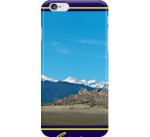 Colorado Morning iPhone Case/Skin