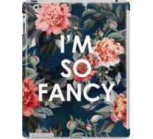 I'm So Fancy Iggy Azalea Inspired Watercolor Blush Peonies Art Print iPad Case/Skin
