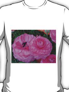 Ranunculus, Toowoomba Garden Qld Australia T-Shirt