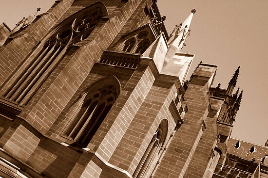 Saint Mary's Cathedral by Jacqueline Barreto
