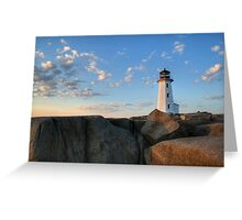 Lighthouse - Peggy Cove Greeting Card