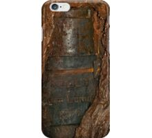 Ned Kelly Armour buried in old tree trunk iPhone Case/Skin