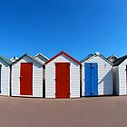 Beach Huts by Darren Findlow