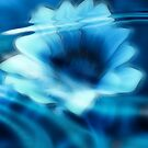 Submerged Blue Floral I by Lesley Smitheringale