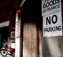 No Parking by Vee T