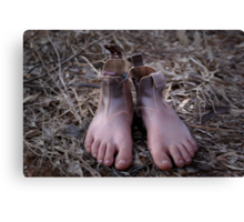 These Boots were made for Walking... Canvas Print