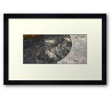 HDR Composite - Granite Rock in Light Through Tea 2 Framed Print