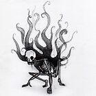 smokey skeleton by vonzilla