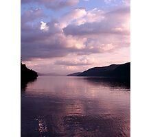 Evening on Loch Ness Photographic Print