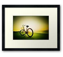 morning shine Framed Print
