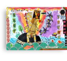 Belladonna, Lady of the Rocks Canvas Print