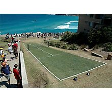 Level Playing Field, Sculptures By The Sea 2006 Photographic Print