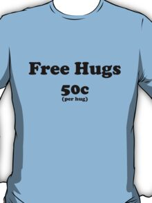free hugs white/colour T-Shirt