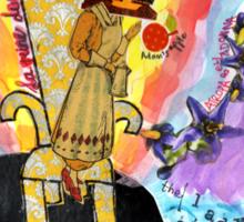 Belladonna, Lady of the Rocks Sticker