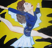 Leaping Lady 2 by Julie Diana Lawless