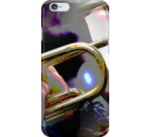 abstract old trumpet iPhone Case/Skin