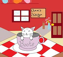 Ann's Kitchen Cat Boots by SeedyRom