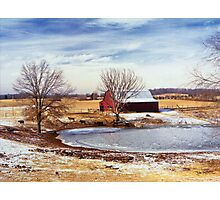 Martin Farm Photographic Print