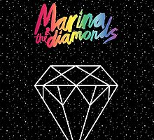 MARINA AND THE DIAMONDS by drawingsbyhm