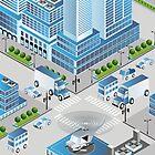 Urban crossroads by Alexzel